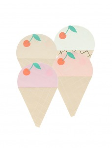 Meri Meri Χαρτοπετσέτα Ice Cream