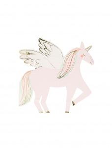 Meri Meri Χαρτοπετσέτα Winged Unicorn