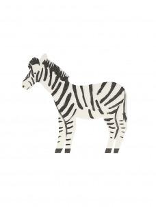 Meri Meri Χαρτοπετσέτα Safari Zebra