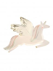 Meri Meri Πιάτο Winged Unicorn