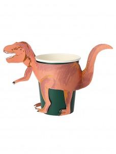 Meri Meri Ποτήρι T-Rex 256ml