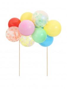 Meri Meri Cake Topper Rainbow Balloon