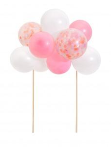 Meri Meri Cake Topper Pink Balloon