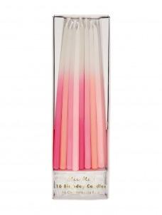 Meri Meri Κεριά Pink Dipped Tapered