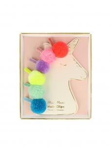 Meri Meri Κλιπ Μαλλιών Pompom Unicorn