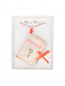 Meri Meri Κολιέ Secrets Book