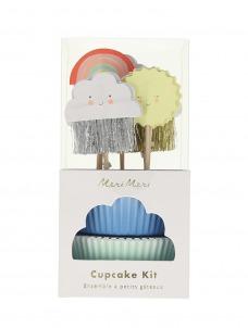 Meri Meri Cupcake Kit Happy Weather