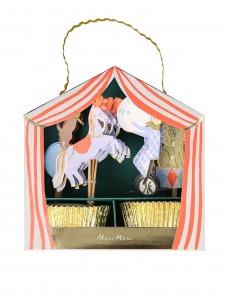 Meri Meri Cupcake Kit Circus Parade
