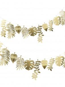 Meri Meri Γιρλάντα Gold Foliage