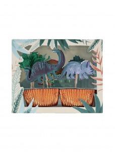 Meri Meri Cupcake Kit Dinosaur Kingdom