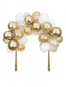 Meri Meri Gold Balloon Arch Kit