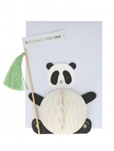 Meri Meri Ευχετήρια Κάρτα Baby Panda