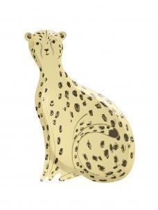 Meri Meri Πιάτο Safari Cheetah
