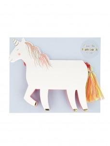Meri Meri Σημειωματάριο Unicorn