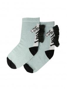 Meri Meri Κάλτσες Zebra Sparkle 3-5