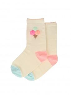 Meri Meri Κάλτσες Ice Cream Sparkle 3-5