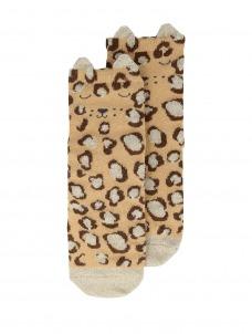 Meri Meri Κάλτσες Leopard Sparkle 3-5
