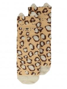 Meri Meri Κάλτσες Leopard Sparkle 6-8
