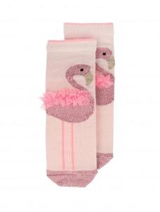 Meri Meri Κάλτσες Flamingo Sparkle 3-5