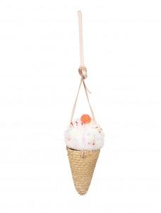 Meri Meri Τσάντα Ψάθινη Ice Cream