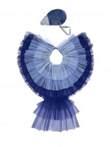 Meri Meri Κάπα Blue Bird