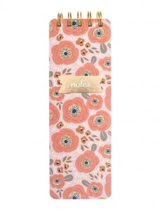 Creamsicle Floral - Reported Journal