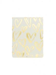 Pocket Notes - Brushed Hearts
