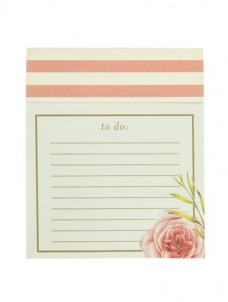 Jotter Notepad - Coral Floral