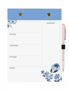 Σετ Σημειωματάριο-Στυλό Blue Floral