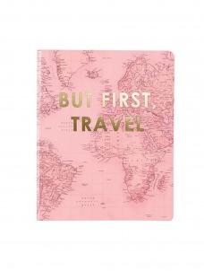 Σημειωματάριο But First Travel