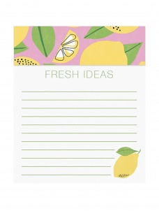 Jotter Notepad-Lemon