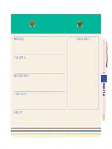Σετ Σημειωματάριο-Στυλό Turquoise