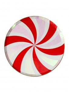 Meri Meri Πιάτο Γλυκού Peppermint Swirl