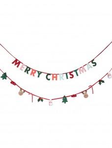 Meri Meri Γιρλάντα Merry Christmas