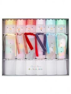 Meri Meri Crackers Rainbow Snowmen