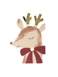Meri Meri Χαρτοπετσέτα Reindeer With Bow