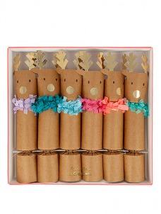 Meri Meri Crackers Reindeer Fringe