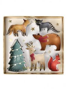 Meri Meri Cookie Cutters Christmas Motif