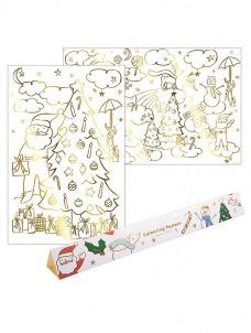 Meri Meri Colouring Posters Christmas