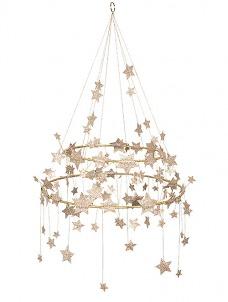 Meri Meri Πολυέλαιος Gold Sparkle Star