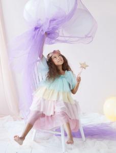 Meri Meri Σετ Μεταμφίεσης Rainbow Ruffle Princess