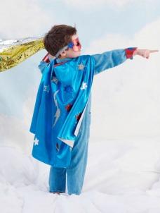 Meri Meri Σετ Μεταμφίεσης Blue Superhero Cape