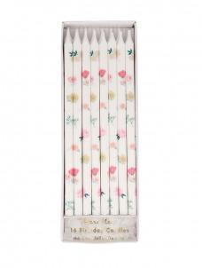 Meri Meri Κεριά Tapered Floral