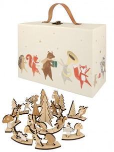 Meri Meri Εορταστικό Ημερολόγιο-Wooden Marching Band Suitcase
