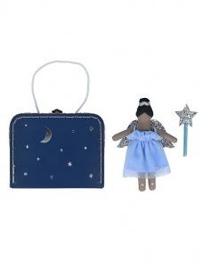 Meri Meri Mini Ruby Fairy Κούκλα σε Βαλιτσάκι