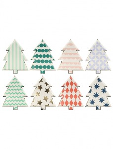 Meri Meri Πιάτο Χριστουγεννιάτικο Δέντρο