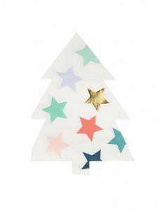 Meri Meri Χαρτοπετσέτα Χριστουγεννιάτικο Δέντρο