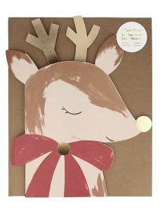 Meri Meri Reindeer Sticker Sketch Book