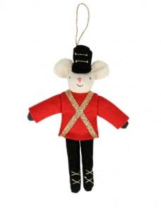 Meri Meri Στολίδι Δέντρου Soldier Mouse
