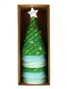 Meri Meri Καπελάκια Χριστουγεννιάτικο Δέντρο